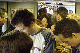 Remaining trains are often overcrowded and late